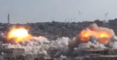 Rusia ataca orase din Siria impreuna cu fortele lui Assad: Bombe cu baril, aruncate pe casele civililor