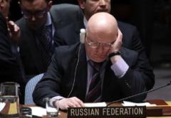 Rusia blocheaza prin veto ancheta privind presupusul atac chimic din Siria