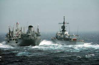Rusia desfăşoară manevre militare în largul Mării Negre, în acelaşi timp cu manevrele NATO
