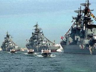 Rusia face exercitii in Marea Neagra pentru a respinge un atac cu rachete