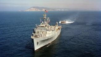 """Rusia interzice accesul navelor militare straine in apele sale teritoriale. SUA denunta o """"escaladare neprovocata"""""""