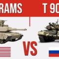 """Rusia lansează noul tanc T-90M, """"colosul"""" de 46 de tone. Comparația cu blindatul M1 Abrams al Statelor Unite VIDEO"""
