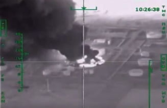 Rusia loveste Statul Islamic unde-l doare mai tare: Bombardeaza rafinarii de petrol si camioane cu combustibil (Video)