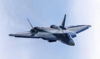 Rusia publica imagini rare cu testarea armamentului de pe Su-57 VIDEO