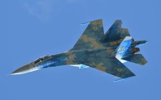 Rusia raspunde aliatilor NATO in zona Marii Negre cu avioane Su-35 de ultima generatie VIDEO