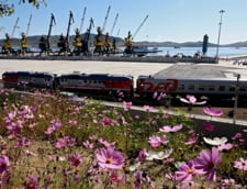 Rusia si Coreea de Nord redeschid legatura pe calea ferata