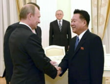 Rusia si Coreea de Nord strang legaturile