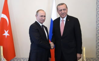 Rusia si Turcia, un nou inceput: Putin spune ca ridica sanctiunile, Erdogan il numeste prieten drag