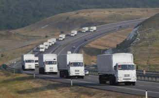 Rusia trimite un nou convoi umanitar in Ucraina