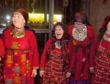 Rusia trimite un sextet de babute la Eurovision (Video)