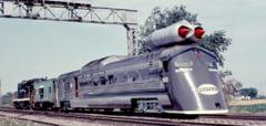 Rusii construiau trenuri cu motoare de avioane in timpul Razboiului Rece