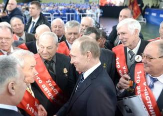 Rusii il vor tot pe Putin presedinte