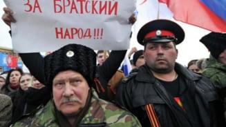 Rusii nu cred ca armata lor este angajata in luptele din Ucraina, dar s-ar bucura daca ar fi