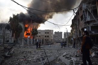 Rusii spun ca ei n-au gasit nicio substanta chimica la Douma, unde peste 70 de oameni au fost ucisi