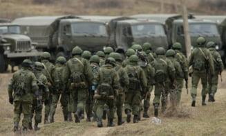 Russia Today: Sute de militari ucraineni au fugit in Rusia si au cerut azil