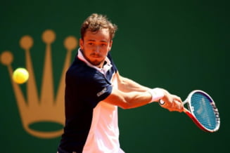 Rusul Daniil Medvedev, primul finalist al Mastersului de la Shanghai. A trecut de invingatorul lui Djokovici