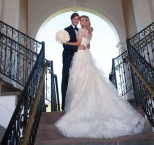 S-a casatorit mostenitoarea imperiului Trump