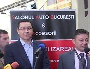 S-a deschis Salonul Auto Bucuresti. Ponta vrea sa modifice taxa auto