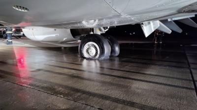 S-a descoperit cauza incendiului produs la avionul de pe aeroportul din Cluj-Napoca. Pompierii au ajuns la aeronavă în 2 minute