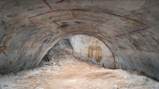S-a descoperit o camera secreta in Palatul subteran al imparatului Nero! Nimeni nu a stiut de existenta ei timp de 2.000 de ani