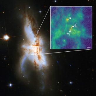 S-a descoperit o galaxie cu totul speciala. E prima de acest fel din Univers!