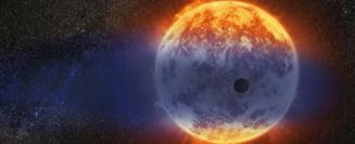 S-a descoperit o planeta care se evapora cu o viteza record. Se poate transforma intr-un super-Pamant