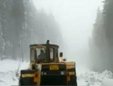 S-a intors iarna in unele zone din Bucovina: Ninsoare si temperaturi negative