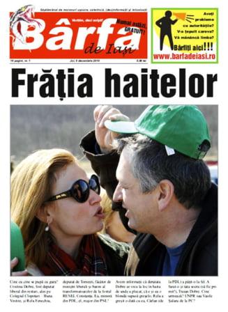 """S-a lansat unicul ziar local de """"barfa oficiala"""" din Romania"""