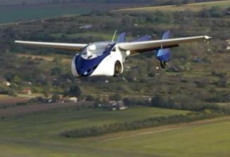 S-a mai spulberat un mit: Ce s-a intamplat cu masina zburatoare in timpul testelor