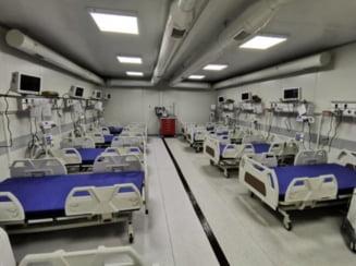 S-a redeschis spitalul modular de la Leţcani, cu 24 de paturi ATI. Șase s-au ocupat deja