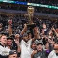 S-a scris istorie în baschetul american. Echipa care a câștigat titlul în NBA după 50 de ani