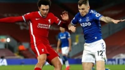 """S-a scris istorie in derby-ul orasului Liverpool. Rezultat nemaintalnit de 22 de ani pe celebrul stadion """"Anfield"""""""