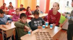 """S-au deschis ofertele """"Lapte si corn"""" pentru anul scolar 2015-2016 la Sibiu. Lupta mare si firme multe!"""