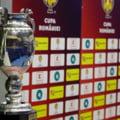 S-au tras la sorti meciurile din semifinalele Cupei Romaniei