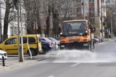 SC Salubritate Craiova SRL: Graficul de interventie pentru dezinfectia strazilor din municipiul Craiova in perioada 28.03-29.03.2020