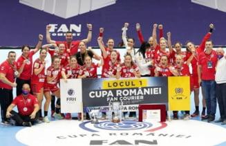 SCM Ramnicu Valcea a castigat Cupa Romaniei la handbal feminin!
