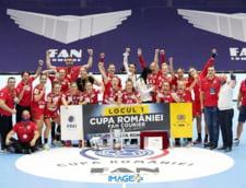 SCM Ramnicu-Valcea a castigat finala Cupei Romaniei la handbal feminin. CSM Bucuresti a terminat sezonul fara nici un trofeu