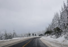 STAREA DRUMURILOR SI A VREMII - In Maramures se circula in conditii de iarna. Temperaturile minime vor fi cuprinse intre -16 grade si -12 grade Celsius