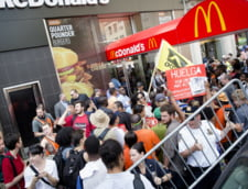 SUA: Greva la McDonald's, in zeci de orase