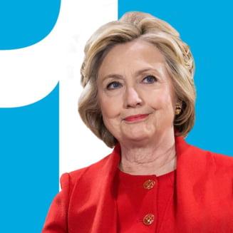 """SUA """"nu isi pot permite inca patru ani"""" cu Trump, avertizeaza Hillary Clinton"""
