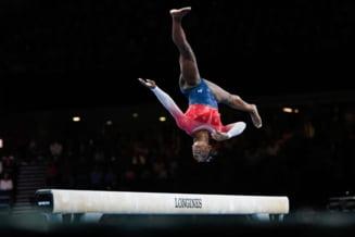 SUA au castigat concursul pe echipe din cadrul Mondialului de gimnastica feminina si au egalat astfel Romania