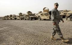SUA isi retrag complet trupele din Irak pana in ianuarie