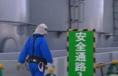 Saci cu deseuri radioactive de la Fukushima au ajuns intr-un rau, in urma taifunului care a lovit Japonia