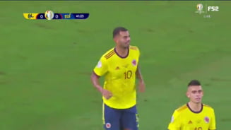Sah-mat! Schema la o lovitura libera care a lasat fara replica apararea adversa la Copa America VIDEO