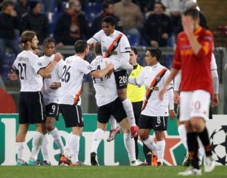 Sahtior a invins Roma in Liga Campionilor! Lucescu, la un pas de sferturi