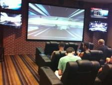 Sala de cinema din campusul universitar