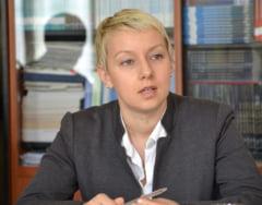 Salajeanca Dana Girbovan nu va prelua fotoliul de ministru al Justitiei