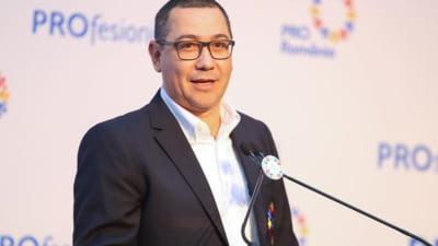 Salarii de mii de euro din bani publici la Pro România. Victor Ponta s-a angajat consilier juridic la propriul partid
