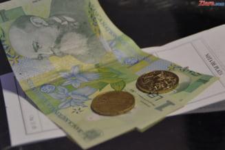 Salariul mediu net a scazut in ianuarie cu 5,5%