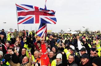 Salariul muncitorilor din Marea Britanie a stagnat in ultimii 10 ani